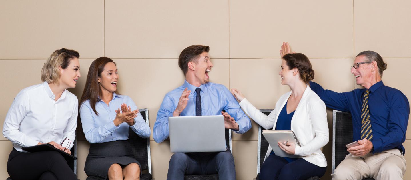 Los empleados felices ¡son más productivos!
